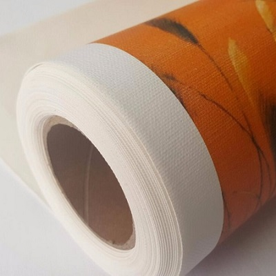 Inkjet cotton canvas material